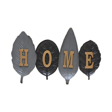 HIASAN DINDING HOME LEAVES 78.8X49.5X6.35 CM_1