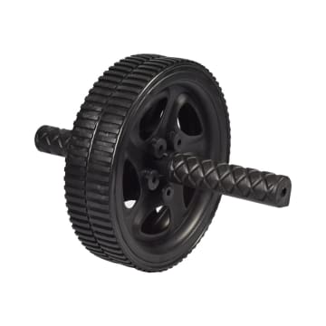 IRON GYM DUAL AB WHEEL - HITAM_2