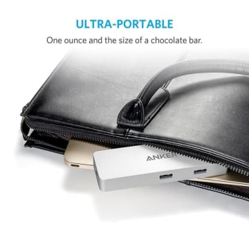 ANKER PREMIUM USB-C HUB WITH ETHERNET AND POWER DELIVERY - SILVER_5