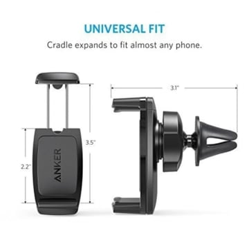 ANKER HOLDER SMARTPHONE AIR VENT MAGNETIC A7144011 - HITAM_3