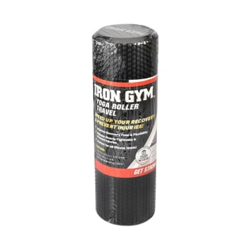IRON GYM MUSCLE ROLLER - HITAM_1