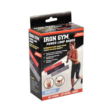 IRON GYM POWER LOOP BANDS - HITAM_2