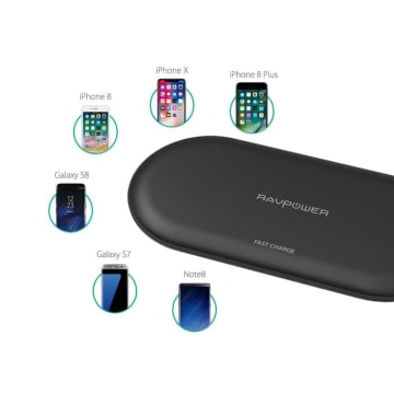 RAVPOWER WIRELESS CHARGING IPHONE/ANDROID PC067_2