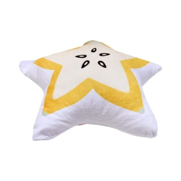 BANTAL SOFA STAR FRUIT 45X45 CM - KUNING_2