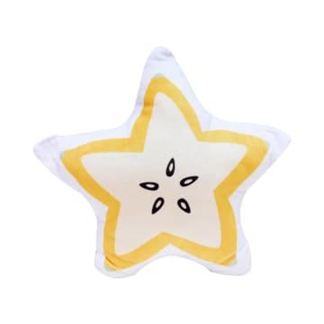 BANTAL SOFA STAR FRUIT 45X45 CM - KUNING_1