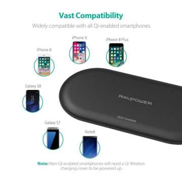 RAVPOWER WIRELESS CHARGE FOR IPHONE/ANDROID RP PC067_4