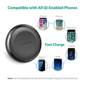 RAVPOWER FAST WIRELESS CHARGER PC058_4