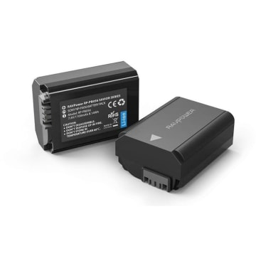 RAVPOWER BATTERY CAMERA SONY CHARGER SET RP PB056_2