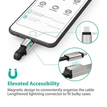 RAVPOWER KABEL DATA USB TO IPHONE RP IM013_3