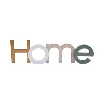 HIASAN DINDING PLAQUE HOME 43.5X12.5X3 CM_1