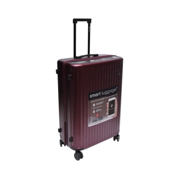 HEYS KOPER SMART LUGGAGE 21 INCI - BURGUNDY_2