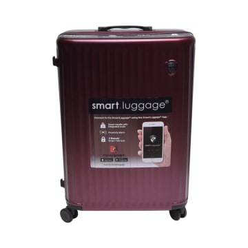 HEYS KOPER SMART LUGGAGE 21 INCI - BURGUNDY_1
