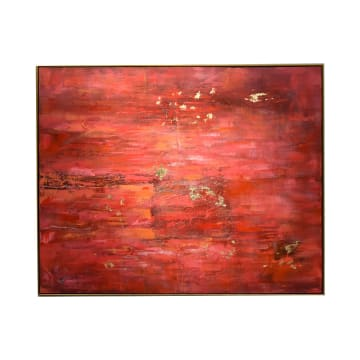 LUKISAN DINDING ABSTRACT 61-1 120X150X3.5 CM_1