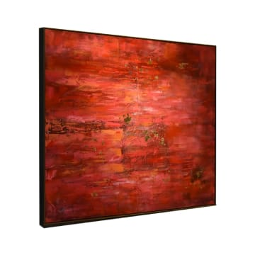 LUKISAN DINDING ABSTRACT 61-1 120X150X3.5 CM_2