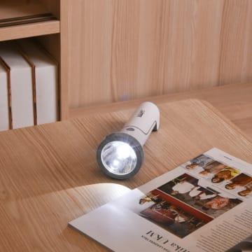 POWERLITE SENTER RECHARGEABLE DENGAN LAMPU MEJA_2