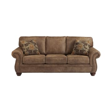 ASHLEY LARKINHURST SOFA 3 DUDUKAN - COKELAT_1