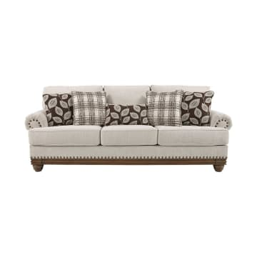 ASHLEY HARLESON SOFA 3 DUDUKAN - KREM_1
