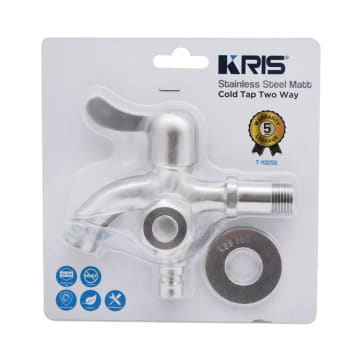 KRIS KERAN AIR TWO WAY STAINLESS STEEL T-1132SS_1