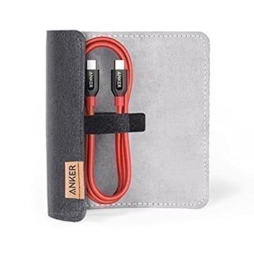 ANKER KABEL USB C TO USB C POWERLINE 90CM A8187H91 - MERAH_2