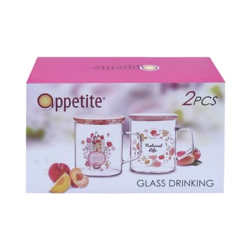 APPETITE SET GELAS NATURAL LIFE 2 PCS_2