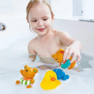 HAPE SPLASH TEDDY & FRIEND BATH SQUIRT_2