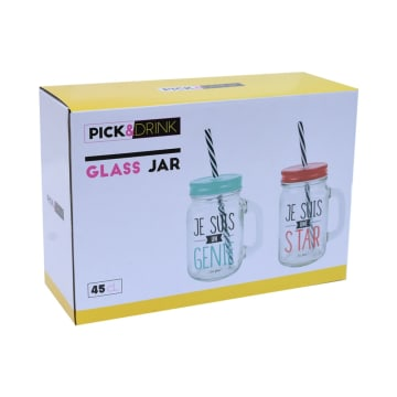 APPETITE MASON SET GELAS STAR & GENIUS 2 PCS_2