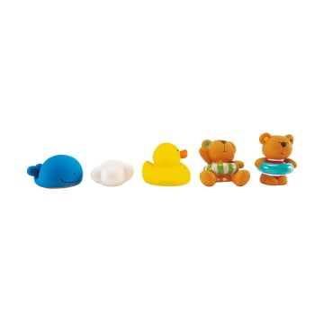 HAPE SPLASH TEDDY & FRIEND BATH SQUIRT_1