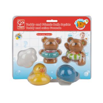 HAPE SPLASH TEDDY & FRIEND BATH SQUIRT_3