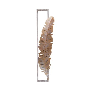 HIASAN DINDING FEATHER R1 28X120X4.5 CM_1