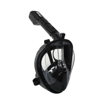 CHAMPS FULL FACE SNORKEL MASK UKURAN L/XL - HITAM_3