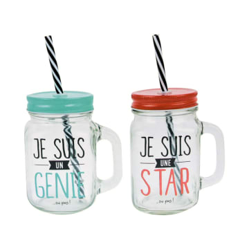 APPETITE MASON SET GELAS STAR & GENIUS 2 PCS_1