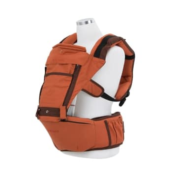 BOTHBABY CARRIER HIPSEAT COZY - ORANYE_2