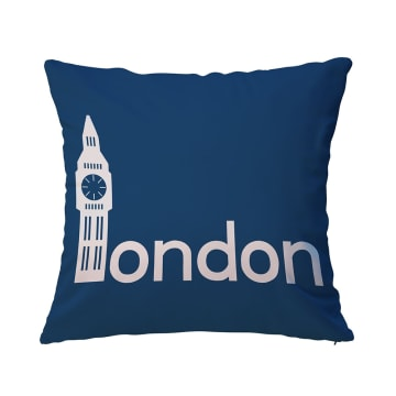 BANTAL SOFA LONDON 40X40 CM - BIRU_1