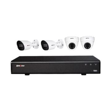 KRISVIEW SET CCTV CVI 1080P DENGAN 4 KAMERA_1
