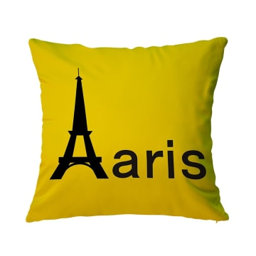 BANTAL SOFA PARIS 40X40 CM - KUNING_1