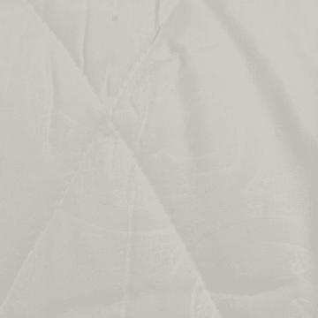 KRISHOME SET SEPRAI DAN BED COVER EMBOSS SINGLE - PUTIH_2