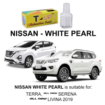 T-UP CAT OLES PENGHILANG GORESAN NISSAN - WHITE PEARL_1