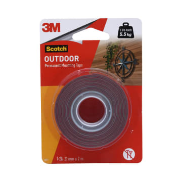 3M MOUNTING TAPE OUTDOOR 2.1 X 200 CM - ABU ABU_1