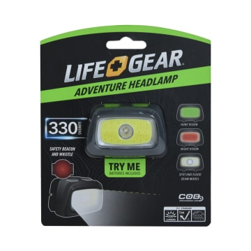 LIFE GEAR SENTER LED STORMPROOF 300 LM_1