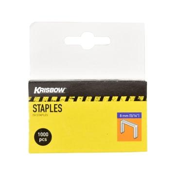KRISBOW SET STAPLES 8 MM 1000 PCS_2