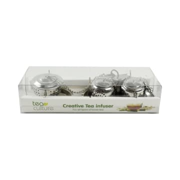 TEA CULTURE TEA POT INFUSER 3 PCS_1