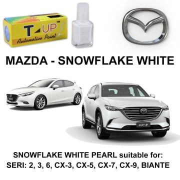 T-UP CAT OLES PENGHILANG GORESAN & BARET (DEEP SCRATCH) MAZDA - SNOWFLAKE WHITE_1
