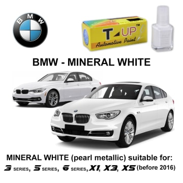 T-UP CAT OLES PENGHILANG GORESAN & BARET (DEEP SCRATCH) BMW - MINERAL WHITE_1