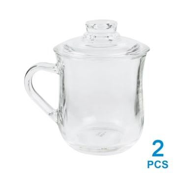 TEA CULTURE MUG GELAS KACA 2 PCS_1