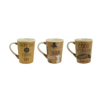 DELIZIOSO SET MUG AFTERNOON COFFEE 3 PCS_1