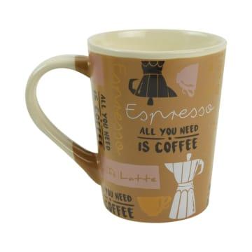 DELIZIOSO SET MUG AFTERNOON COFFEE 3 PCS_3