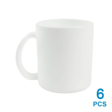 APPETITE SET MUG OPAL 6PCS - PUTIH_1