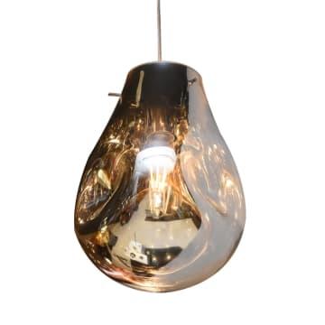 KYRA LAMPU GANTUNG HIAS 23X23X32 CM - CHROME_1