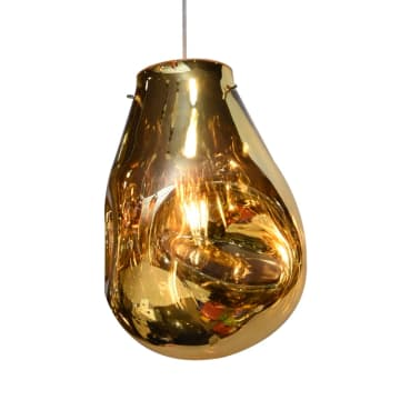 KYRA LAMPU GANTUNG HIAS 23X23X32 CM - CHAMPAGNE_1