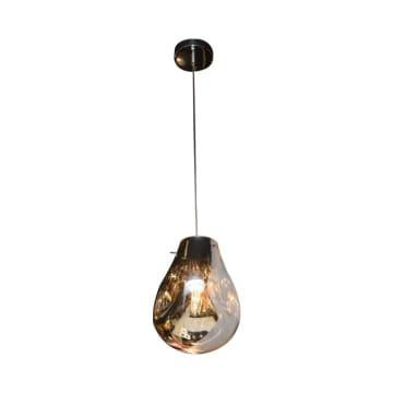 KYRA LAMPU GANTUNG HIAS 23X23X32 CM - CHROME_2